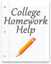 College Homework Help or How to Help Students Survive During End-of-Year Exams?