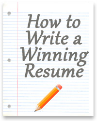 How to Write a Winning Resume Useful Tips