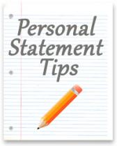 Personal Statement: Examples of Tips that Will Help You in Writing
